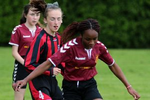 IN PICTURES: CGS girls' football tournament
