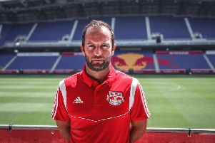 Derry City native Sean McCafferty, the new Director of Academy at Major League Soccer club, the New York Red Bulls.