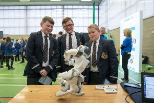 Strabane students learn about future opportunities at Careers Fair