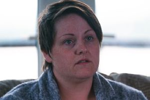 Sara Canning, partner of murdered journalist Lyra McKee, says it has been almost nine months since her partner was murdered. Photo: Channel 4.
