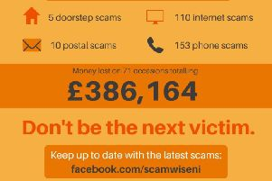Victims conned out of thousands by fraudsters