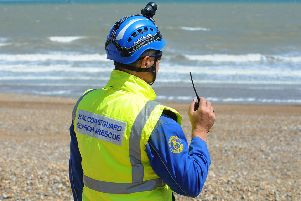 HM Coastguard Stock image.