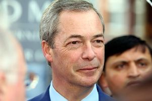 Nigel Farage has admitted he may back a second referendum on Brexit