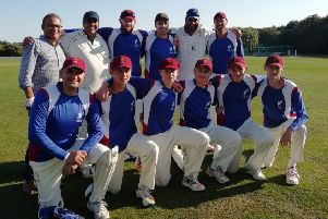Louth CC Taverners overcame the absence of their captain and vice-captain to win a fourth T20 title in a row EMN-180309-101319002