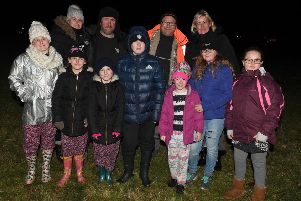 Residents and visitors enjoyed Louth's charity bonfire and firework night on Saturday (November 3). Photo: David Dawson.