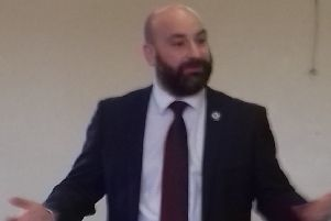 Lincolnshire's Police and Crime Commissioner, Marc Jones