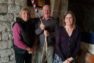 The three North Somercotes ringers were Jeanette Keddington, Trevor Stones and Sonia Berry. EMN-190419-091935001