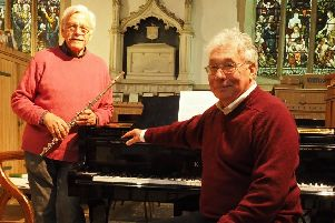 John Prior and Phil Hotham open the summer season of recitals in Louth's St James's Church EMN-190626-161121001