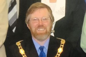 Former Mayor of Mablethorpe and Sutton, Graham Gooding.