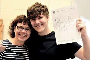 GCSE results: Students celebrate 'excellent progress' at Somercotes Academy