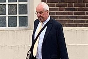 Ray Oxby, pictured near Grimsby Magistrates' Court last week.