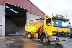 Gritting lorry