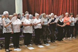 Lurgan singers in fine voice with Northern Ireland Opera