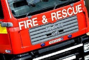 Local Fire and Rescue crews dealt with the blaze