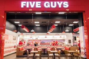 Five Guys and Nandos on course to be delivered in October