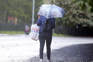The severe weather looks set to arrive in Lurgan and the rest of Northern Ireland in the early hours of Friday.