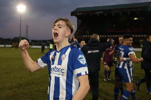 Coleraine midfielder, Ciaron Harkin looks set to complete his return to Derry City in a player swap move involving Ben Doherty.