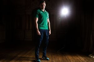 Ireland and Ulster winger, Jacob Stockdale