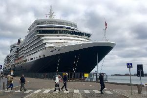 Ulster Carpets on the crest of a wave with Cunard cruise ships