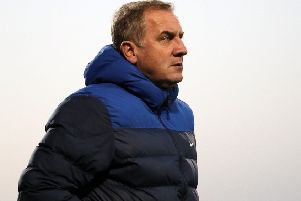 Paul Millar has left his role as Glenavon assistant manager to join Glentoran. Pic by Pacemaker.