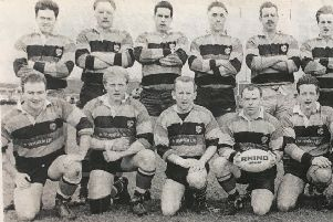 The Lurgan team who played in the quarter finals of the Towns Cup in 1992