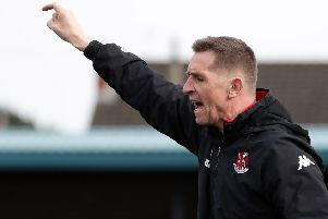 Crusaders boss Stephen Baxter. Pic by Pacemaker.