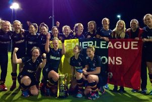 Lurgan staged a late, late show to be crowned Ulster Premier League champions for the fourth year in a row after a hard fought 1-0 home win over Banbridge.