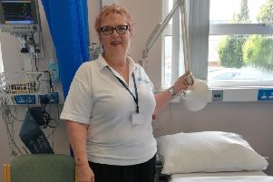Kate Spence who volunteers at Craigavon Area Hospital