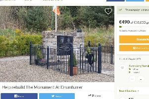 Fundraising has started in an effort to rebuild a memorial to Loughgall IRA men