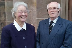 Michael Cawdery and his wife Marjory died in May 2017