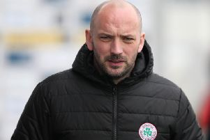 Cliftonville boss Paddy McLaughlin