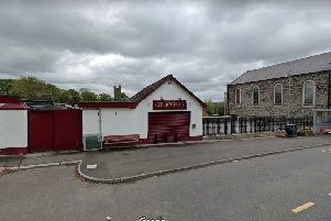 The off licence in Magheralin where an armed robbery took place. Picture by Google.