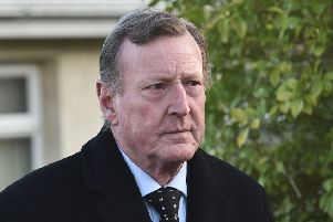 Former First Minister 'David Trimble gave his reaction to the number of murders linked to the IRA since the Good Friday Agreement he helped deliver in 1998. Photo: Colm Lenaghan/Pacemaker Press