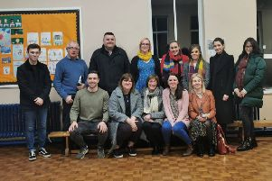 Members of the newly formed Loughshore Playgroup Committee in Maghery