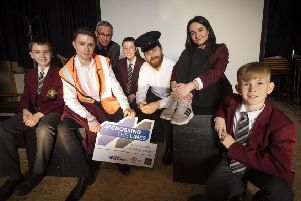 Theatre group brings rail safety message to Ulster's schools