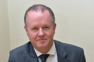 Stephen Conroy, chief exective of Bedford Hospital NHS Trust. PNL-140729-145337001