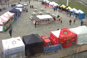 International Street Market in Luton