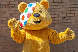 Luton store hosts picnic for Children in Need