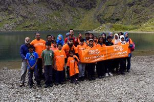 Luton Scouts conquer Welsh Everest