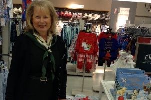 Jan Hillyard marks 40 years at Marks and Spencer in Luton