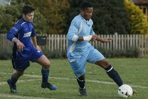 Ickwell v Kempston Town & Bedford College. Picture: David Kay