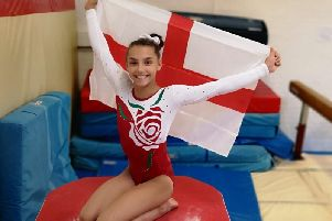 Gymnast Gabby Connolly