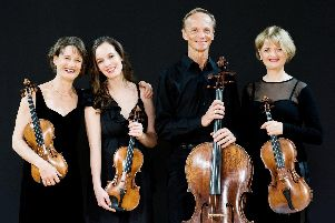The New Zealand String Quartet are playing in Limbury