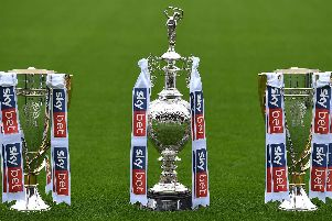 Championship, League One and League Two titles