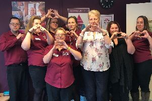 The caring team at Home Instead Luton and Central Bedfordshire.