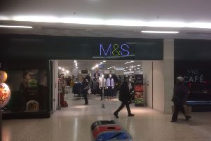 M&S, The Mall.