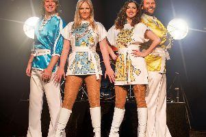 Thank You For The Music bring the hits of Abba to the Grove Theatre