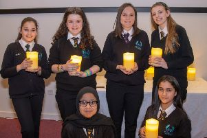Holocaust Memorial Day: Stopsley High School pupils honour the victims and survivors of the Holocaust.