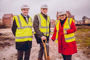 Work starts on affordable housing scheme in Dunstable