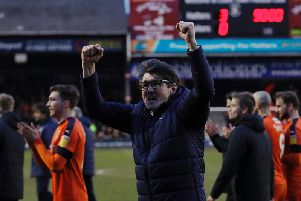 Mick Harford will stay in charge until the end of the season